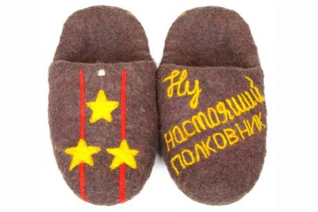 Русские тапочки